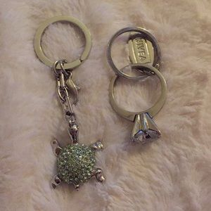Other - Turtle and Engagment Ring Key chain Bundle